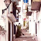 Gasse in Andalusien (Gemälde von mir / unos de mis cuadros)