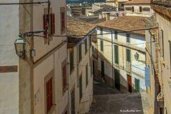 Gasse in Arta Mallorca