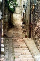 Gasse in Assisi