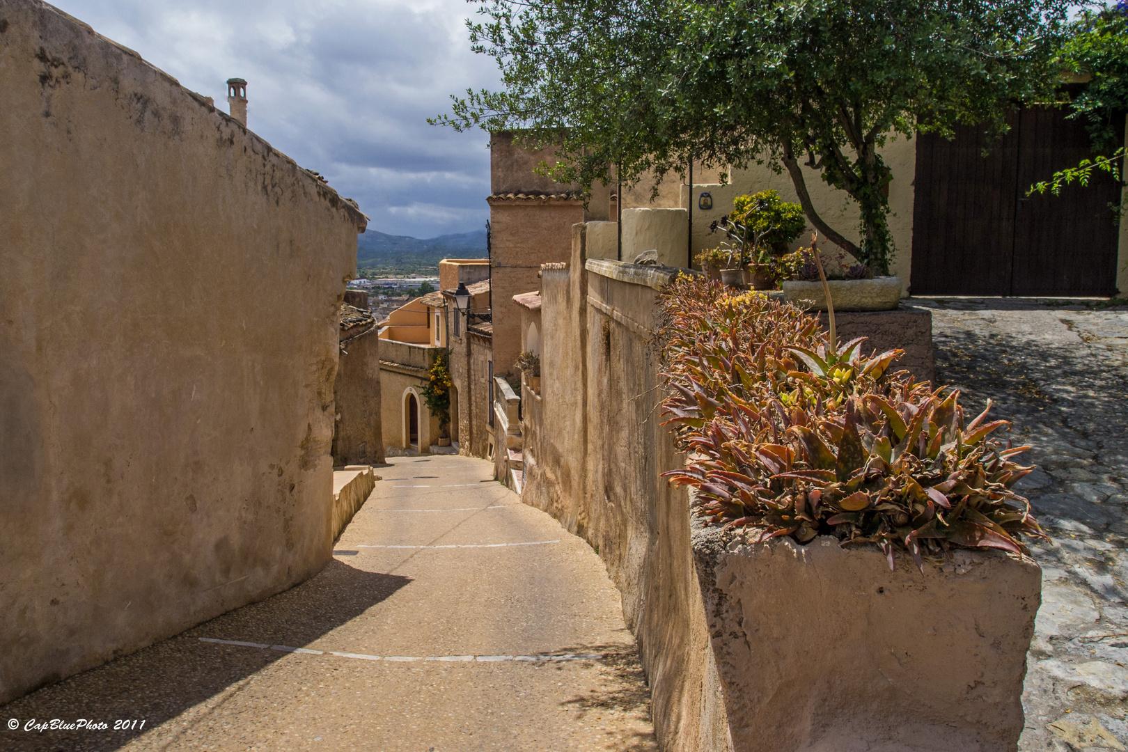 Gasse in CapdePera Mallorca