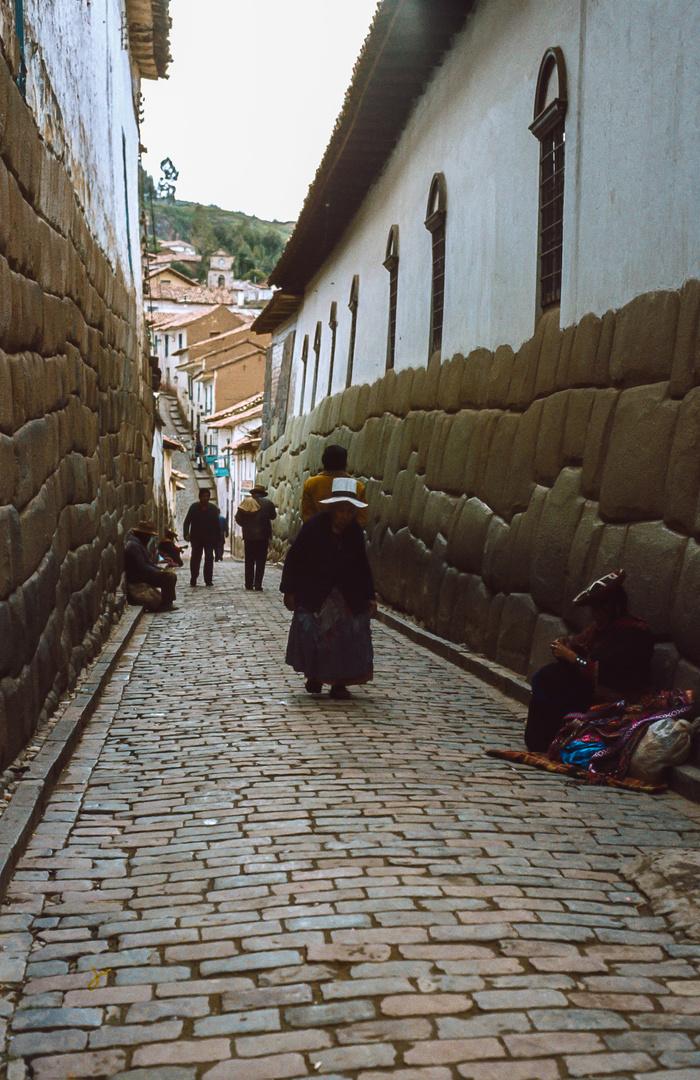 Gasse in Cuzco