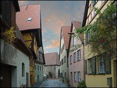 Gasse in Dinkelsbühl II