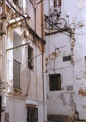 Gasse in Ibiza-Stadt