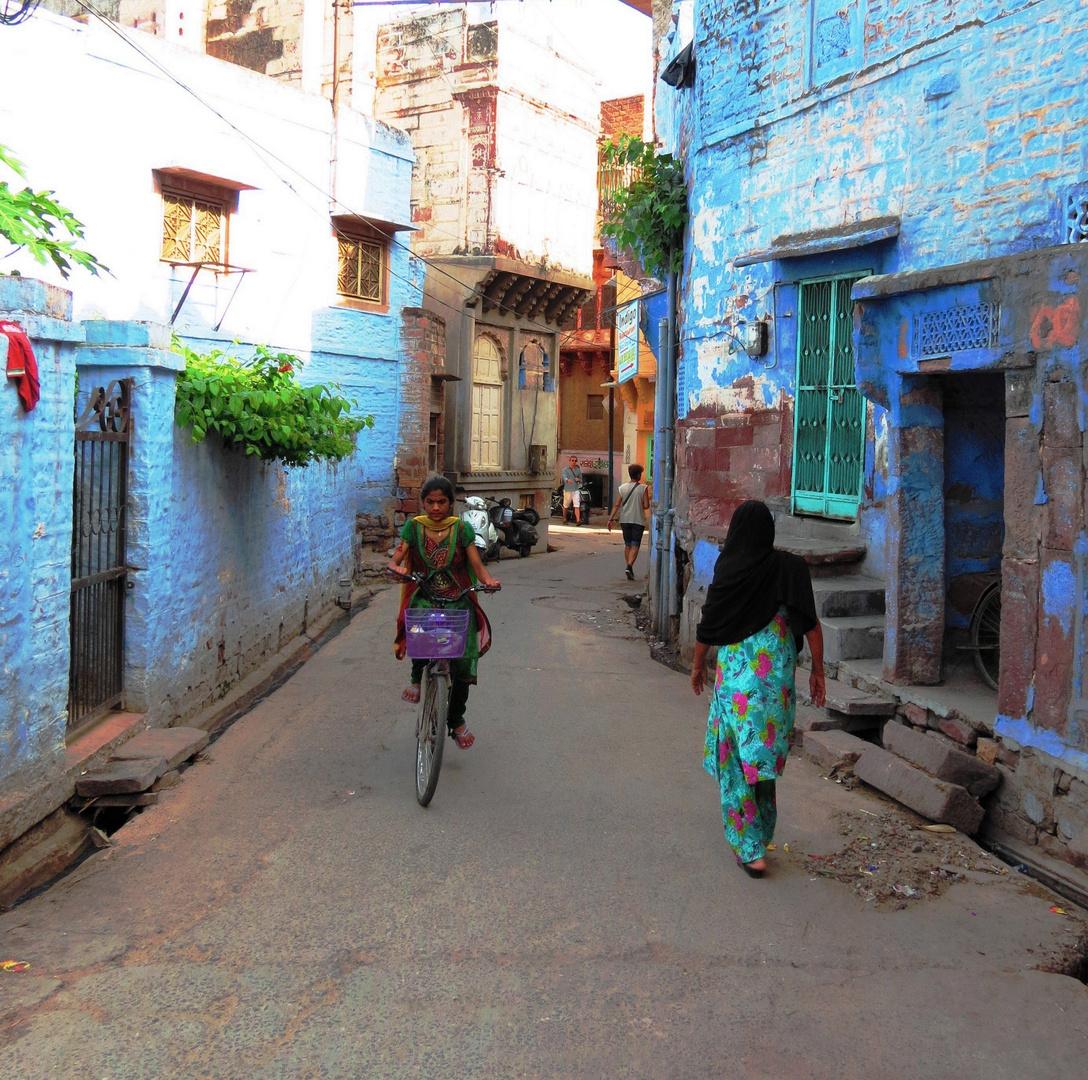 Gasse in Jodhpur