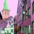 Gasse in Lüdinghausen_ Impression