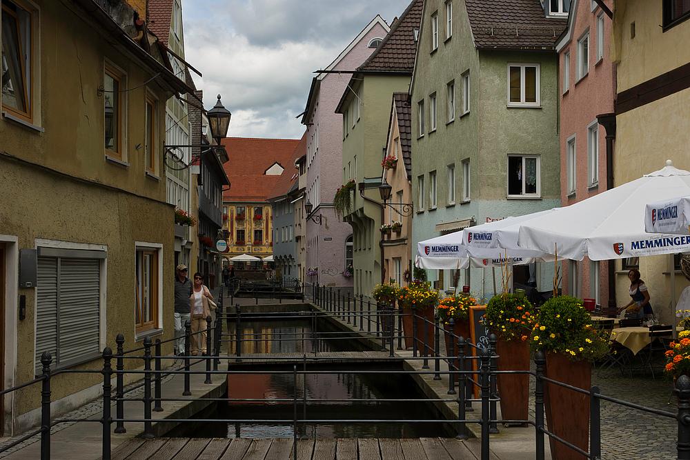 Gasse in Memmingen