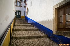 Gasse in Obidos
