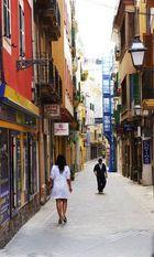 Gasse in Palme de Mallorca