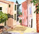 Gasse in Roussillon