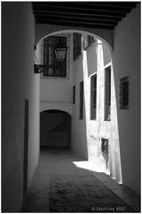 Gasse in Sevilla