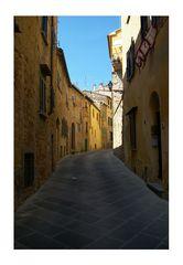 Gasse in Volterra