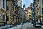 Gassen der Dresdner Altstadt