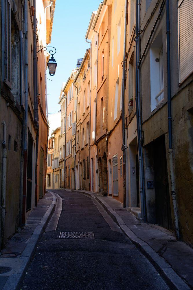 Gassen in Aix-en-Provence
