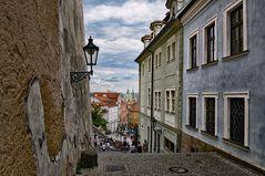 Gassen ohne Ende _ Prag Altstadt -