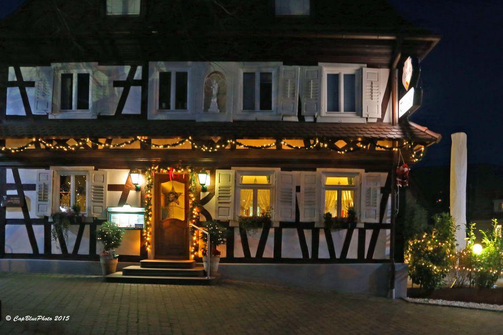 Gasthaus bei der Kirche in Kappelwindeck (bei Bühl Baden)