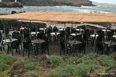 Gastronomie unter freiem Himmel direkt am Meer in Garachico