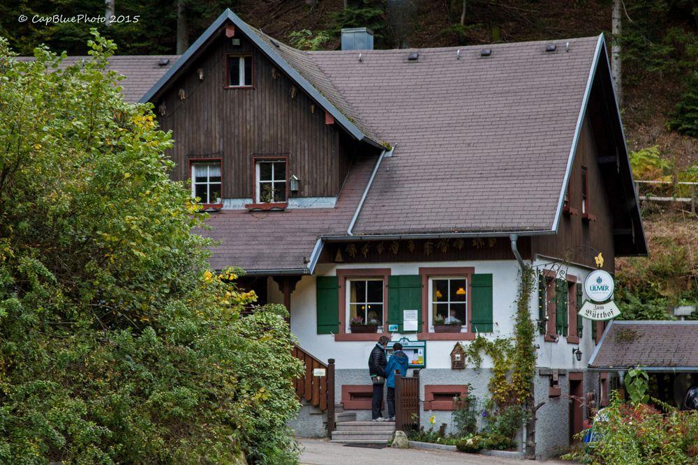 Gaststätte Bütthof am Gerolsauer Wasserfall