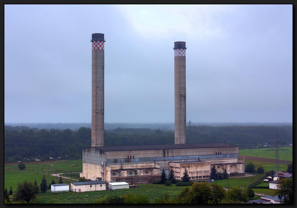 Gasturbinenkraftwerk...