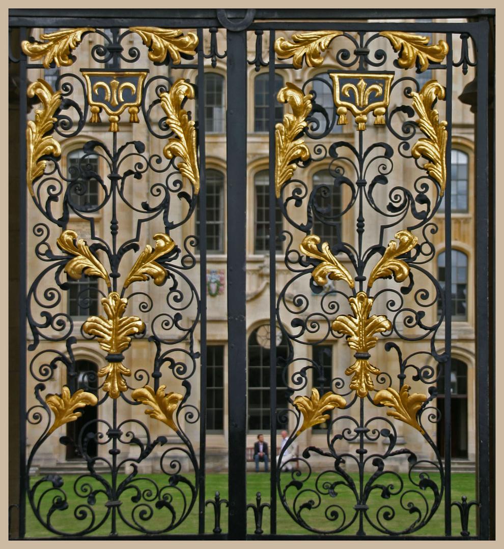 Gate All Souls College Oxford