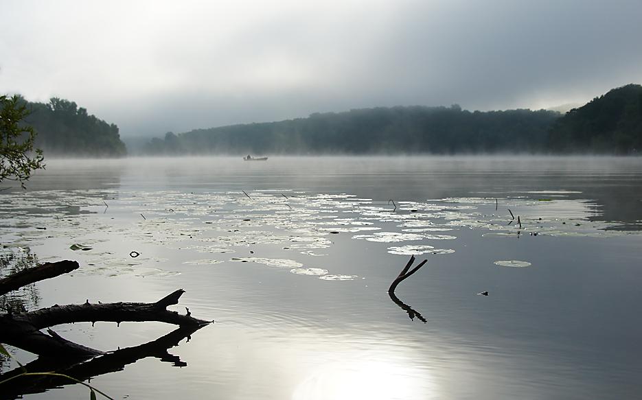 Gatow und Sacrow im Nebel, 03.09,19 – 04