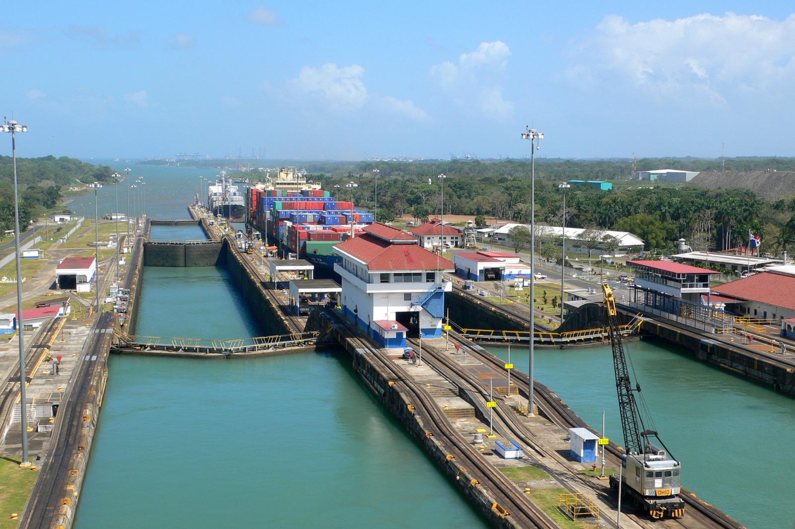 Gatun-Schleuse Panama-Kanal