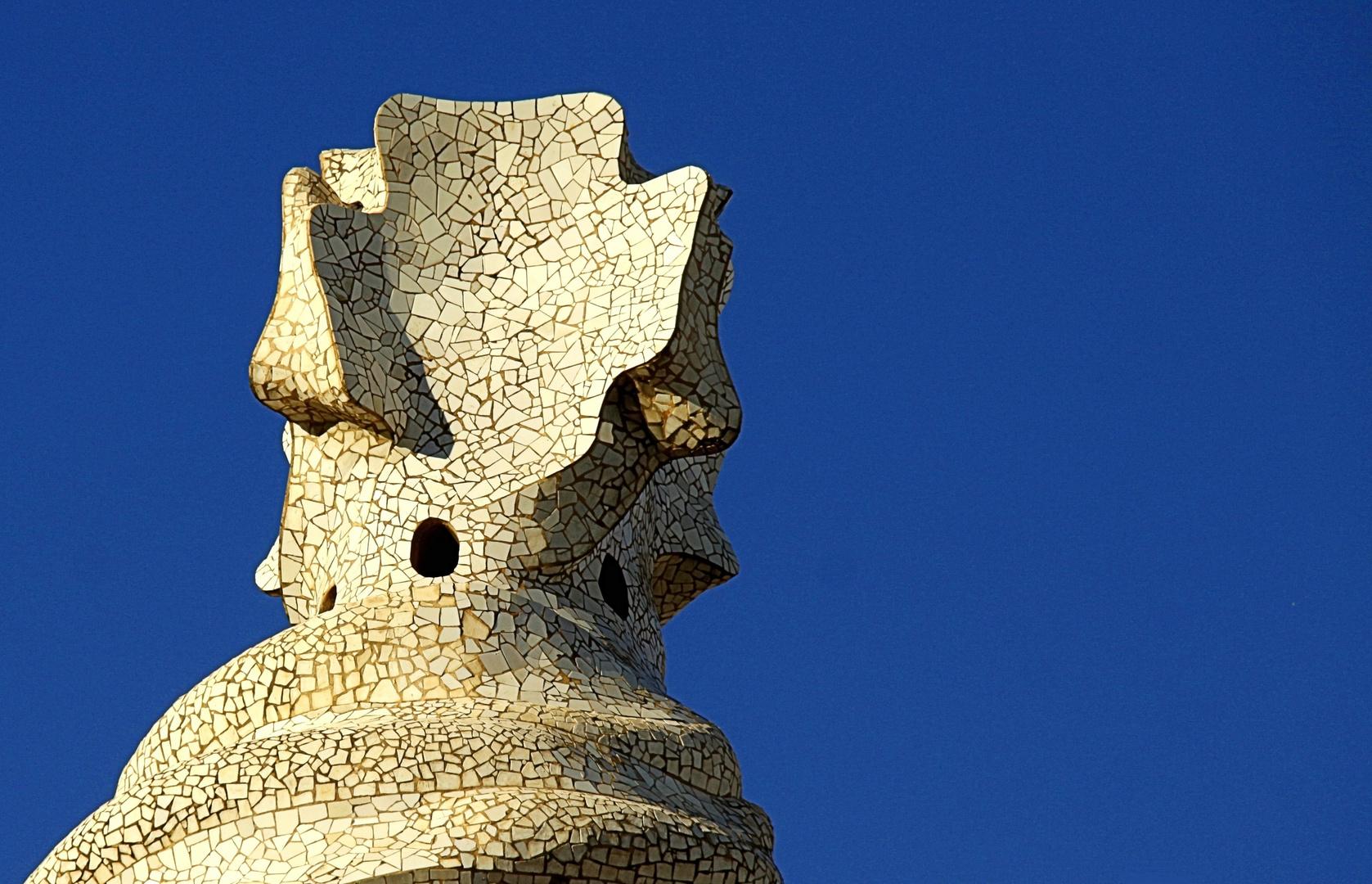 Gaudi at Barcelona - Detail of Ventilation