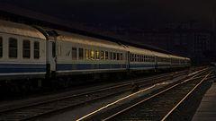 Gaueko trena. (Tren de la noche)