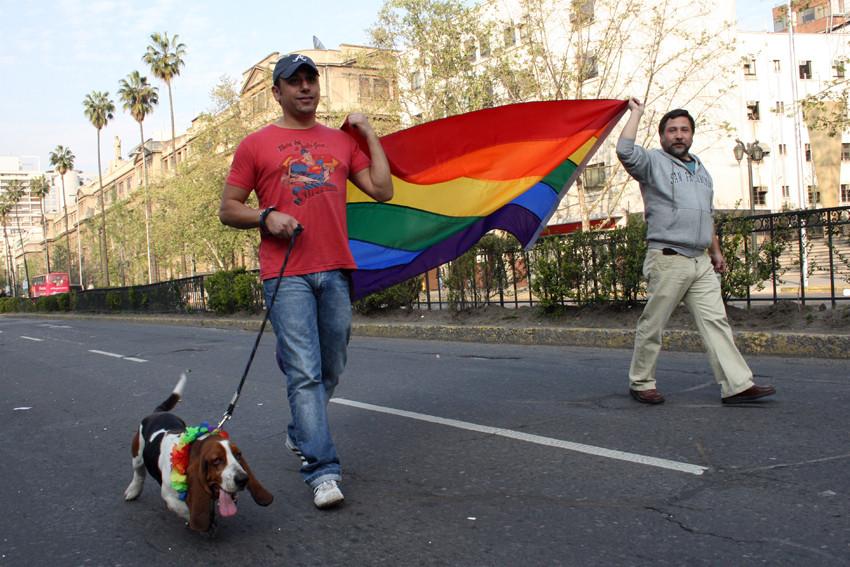 Gay parade 2007, Santiago Chile