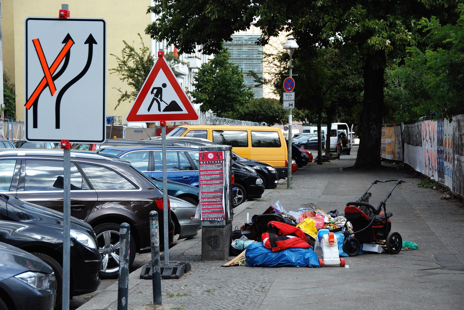 Geänderte Verkehrsführung (II)