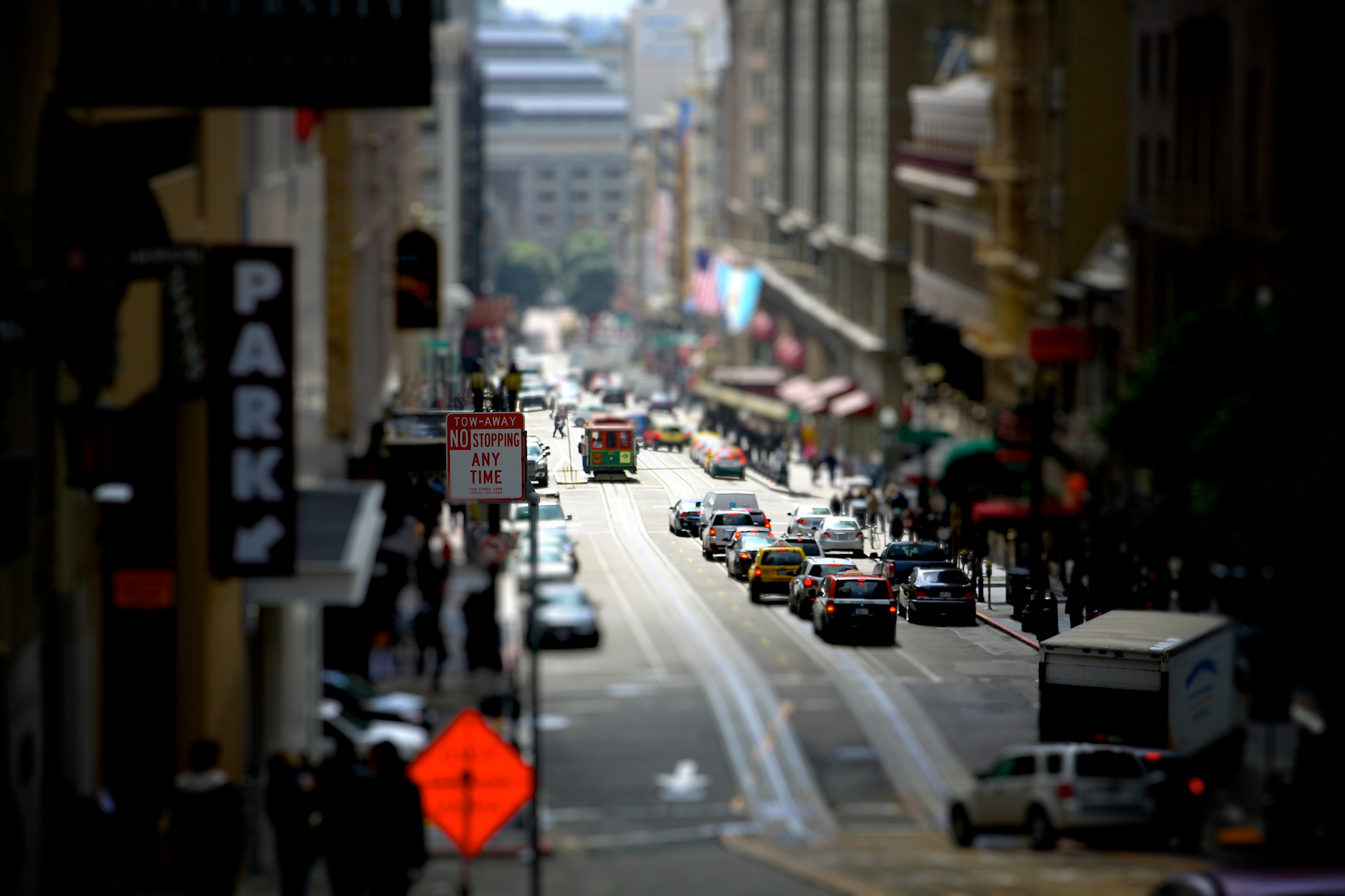 Geary Street, San Francisco (til-shift)