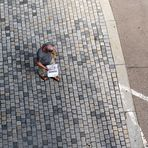 Gebäckträger in der Stadwüste