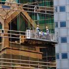 Gebäudereiniger in Hongkong