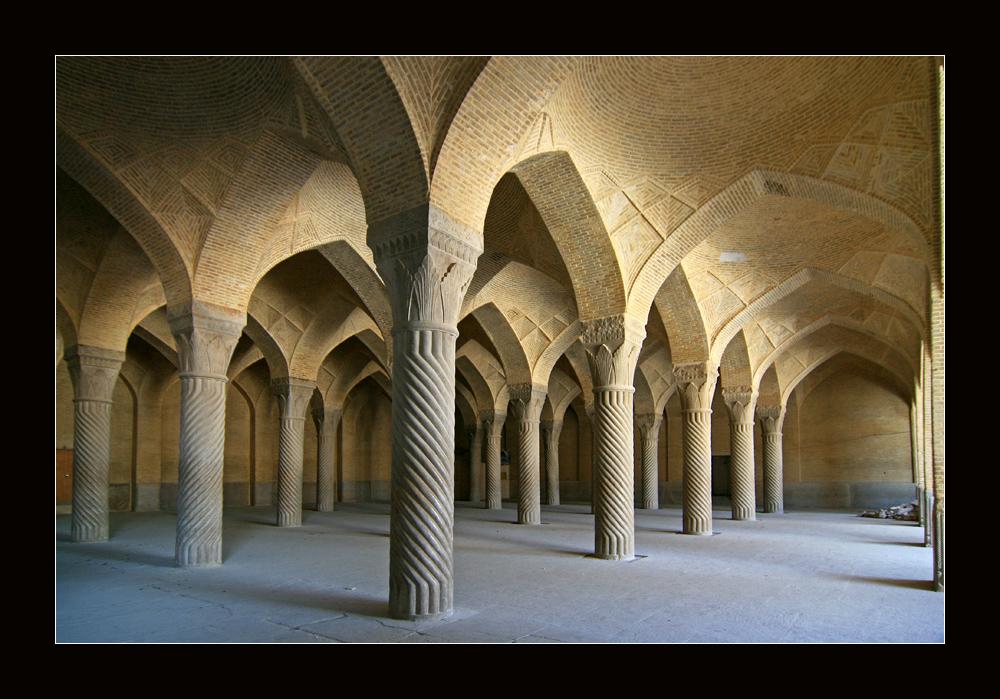 Gebetshalle der Wakil Moschee in Shiraz