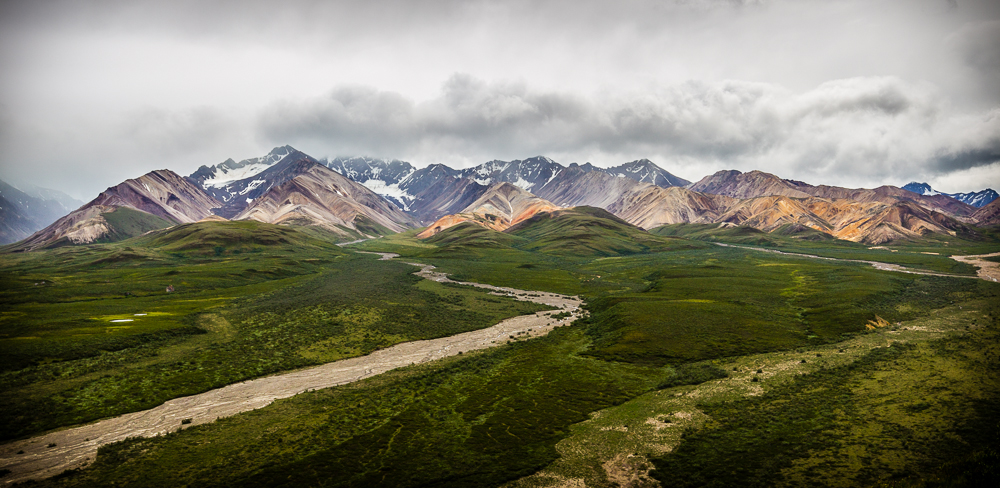 Gebirge im Denali