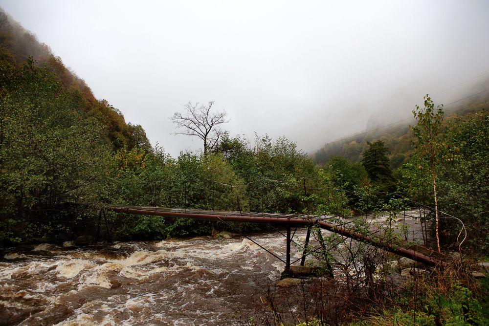 Gebirgsbachbrücke