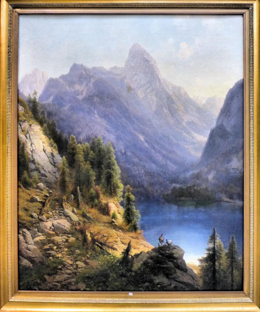 Gebirgslandschaft bei Oberstdorf