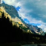 Gebirgslandschaften in Nord Italien