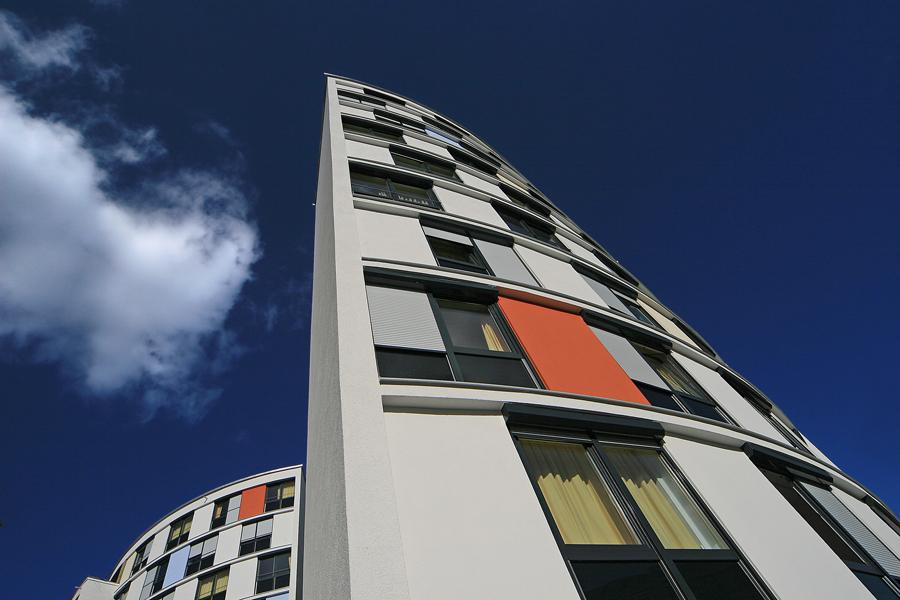 Gebogene Fassaden
