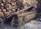 Gebraucht aber gut erhalten, Monasterio de Piedrahita, Castilla y Leon, Juli 2001