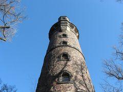 Gebrüder Fichtner III ...ehemaliger Bismarckturm 1896