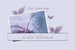 GEBURTSTAGSKARTE -1-