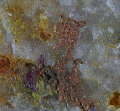 ged. Kupfer xx (Bergmann bei der Arbeit), Grube Clara, Wolfach