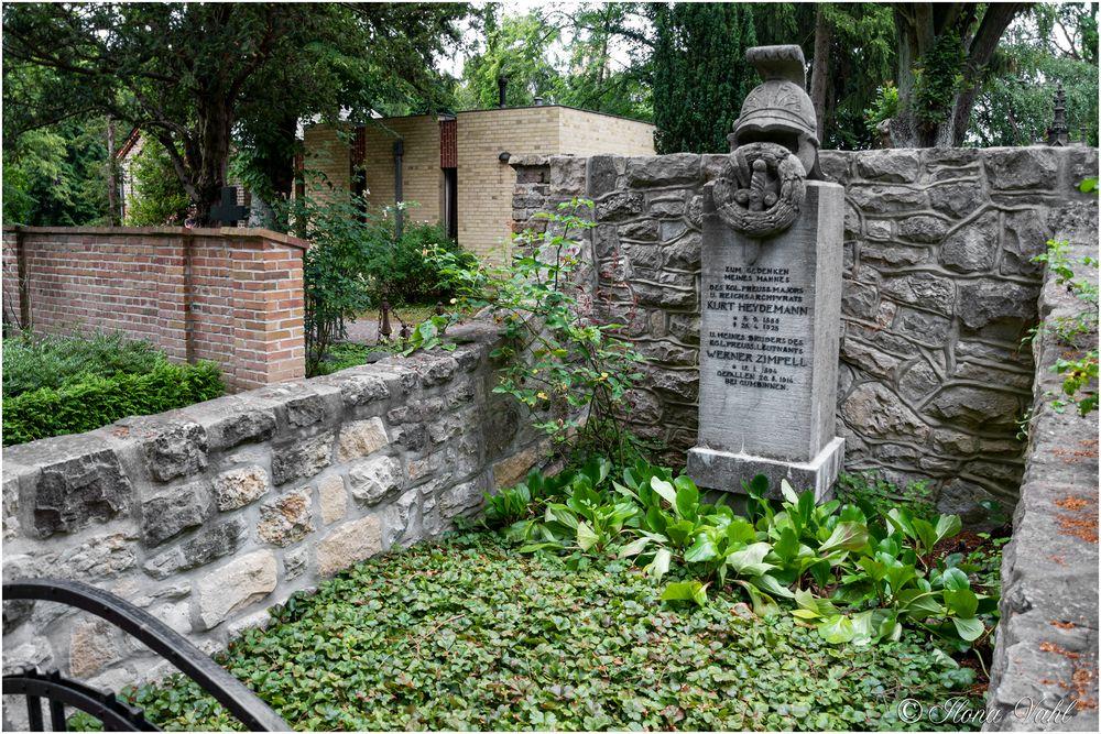 Gedenkgrab für den Major und Reichsarchivrat Kurt Heydemann