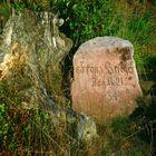 Gedenkstein für französische Krieger am petit Donon