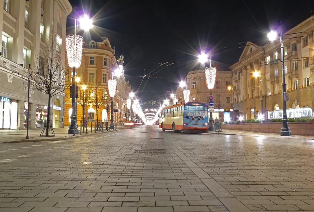 Gedimono Prospekt (Vilnius, Litauen)