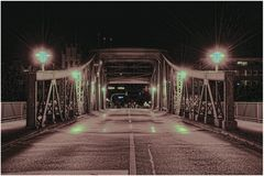 Geestebrücke in Bremerhaven