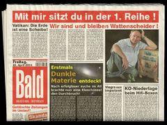 Gefälschte Zeitungen im Umlauf