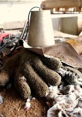 gefederter Handschuh
