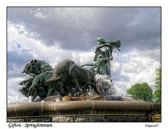 Gefion Brunnen - Kopenhagen