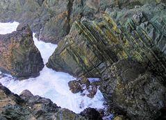 - geflutete Steinformationen ...
